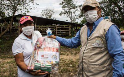 Proyecto Territorios Caqueteños y la Embajada de Portugal, juntos para entregar ayudas alimentarias durante la pandemia