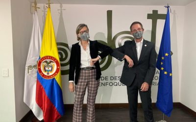 12,5 millones de euros de la Unión Europea para la paz y la reincorporación en Colombia