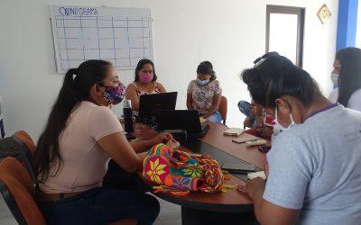 Mujeres en proceso de reincorporación y campesinas, juntas por el Plan de Desarrollo en Puerto Guzmán