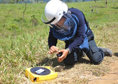 T06.25 HUMANICEMOS DH. Reincorporation and reconciliation through Humanitarian Demining actions