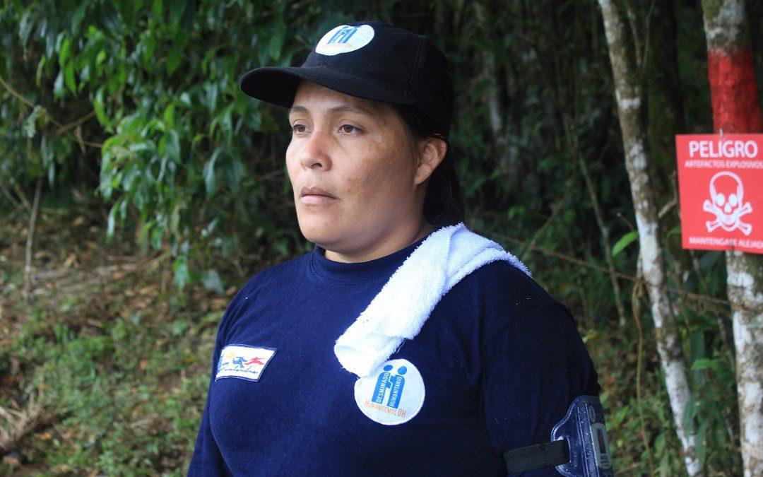 Reincorporados inician labores de desminado humanitario en Caquetá