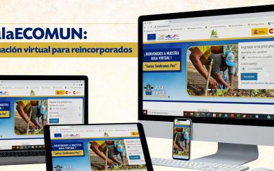 AulaECOMUN: formación virtual para reincorporados