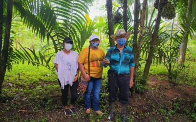 25 campesinos firman acuerdos de conservación para conservar 1.000 hectáreas de bosque en el sur del Meta